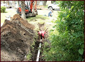 Drain and Sewer Line Installation in Jacksonville