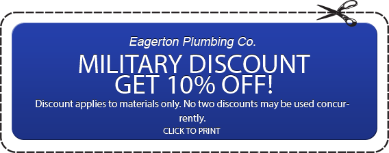 Plumbing-Military-Discount 10% Off Discount Coupon